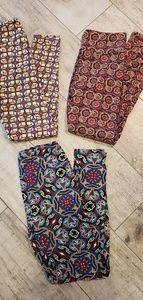 Bundle of 3 pairs of Lularoe leggings